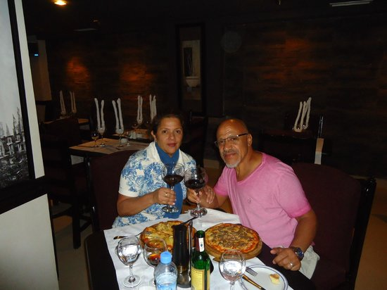 Restaurant Isla Blanca : Eu e Ivany Pinto