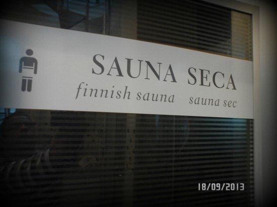 Mercure Hotel Curitiba Centro: Sauna seca