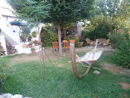 Cortijo La Haza : Part of the garden