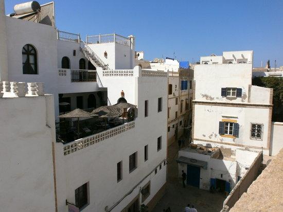 Riad Ghita : vu de la terrasse