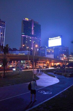 Plaza Paitilla Inn: la bicisenda de la zona del hotel