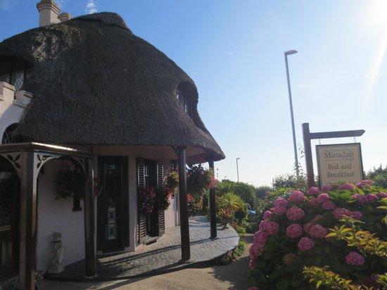 The Minadab Cottage: Morgenstimmung