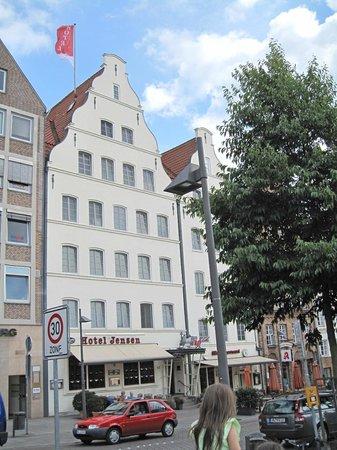 Ringhotel Jensen: Hotel Jensen exterior