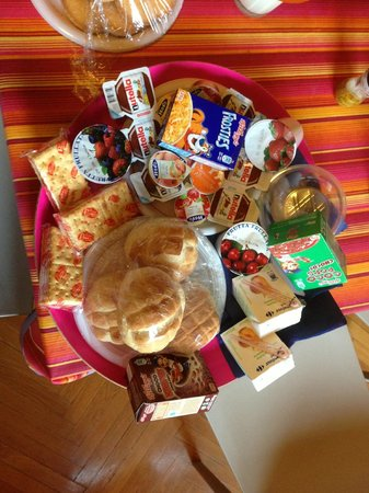 My Guest Roma : packed breakfast basket.