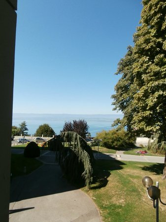 Ibis Thonon - Evian : view from my room