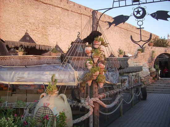 Kasbah of Hammamet: Cafe Sidi Bou Hadid