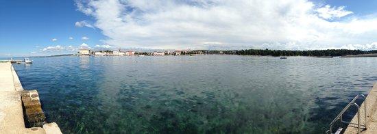 Valamar Crystal Hotel: Panorama of Porec from Sv Nikola
