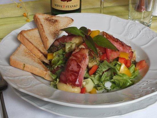 Hotel Majolika : lunch