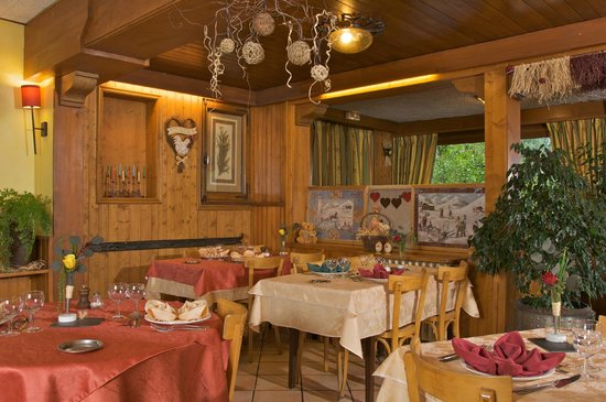 Alp-Hotel : Restaurant