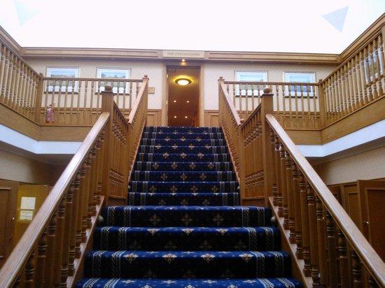 Dale Hill Hotel and Golf Club: hallway