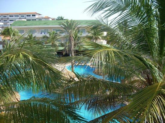 Isla Caribe Beach Hotel: vista desde la habitacion