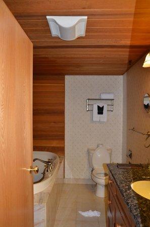 Golden Arrow Lakeside Resort : The bathroom was nice