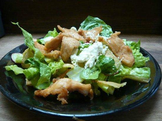 India Joze: Yummy Chicken Fatoush Salad Lebanese