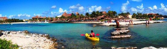 Catalonia Yucatan Beach: panoramica hotel