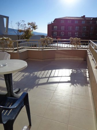 MPM Hotel Astoria: View from room, balcony
