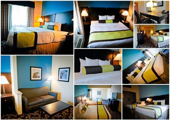 Best Western Plus Arlington North Hotel & Suites: Rooms