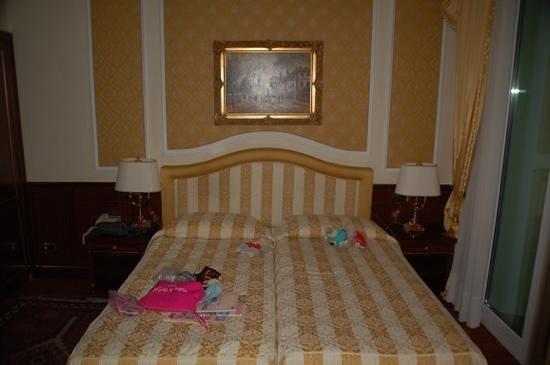 Hotel Simplon: chambre
