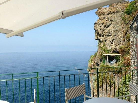 Trattoria Gianni Franzi: Breakfast terrace