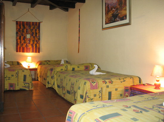 Posada Landivar: Quadruple room