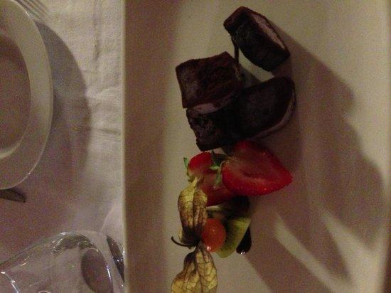 Restaurante Galena Mas Comangau: Chocolate truffle