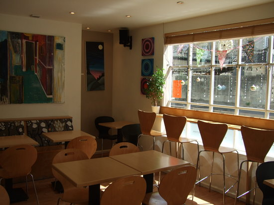 Inside Emma's Cafe