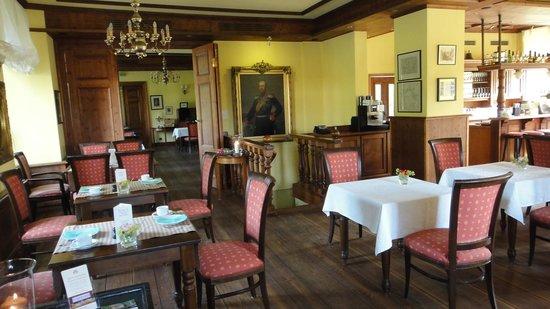 Romantik Hotel Gutshaus Ludorf: Le restaurant