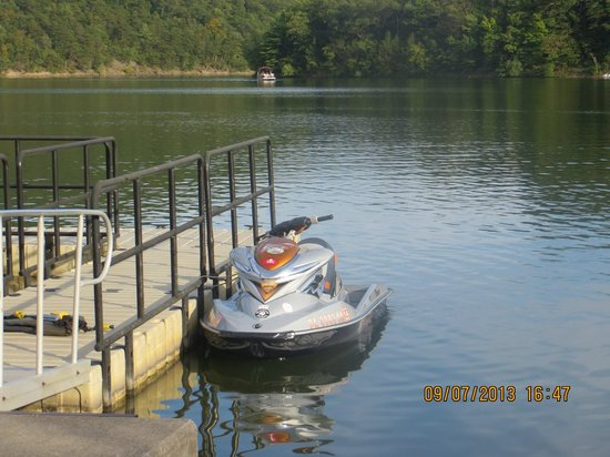 Comfort Inn Huntingdon: James Creek !