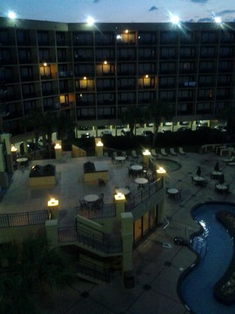 DoubleTree Resort by Hilton Myrtle Beach Oceanfront: First night