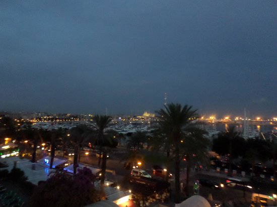 Gran Melia Victoria: View from the terrace bar - DRY