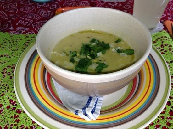 Aashi, Almacen y Cocina Natural : sopa lentejas coco