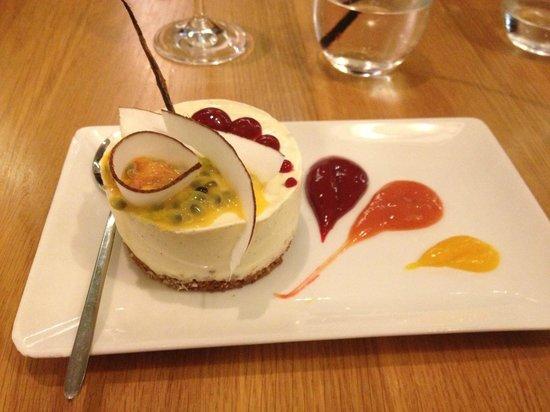 Shake Eat : Cheesecake mangue, coco & passion