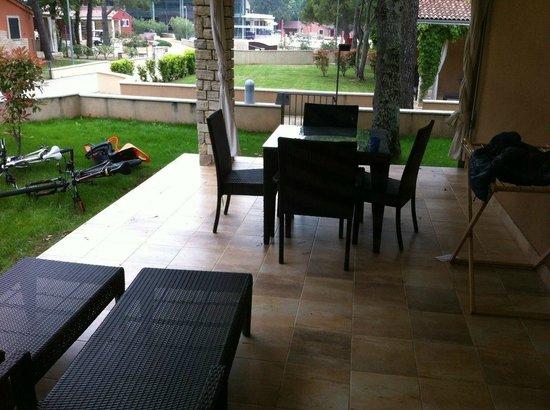 Melia Istrian Villas for Plava Laguna: patio