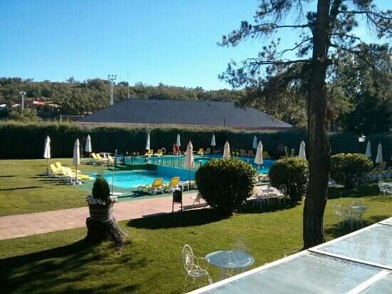 Hacienda Los Robles: excelente vista, en la piscina