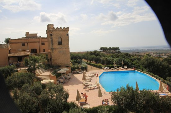 Baglio Oneto Resort and Wines: view from terrace
