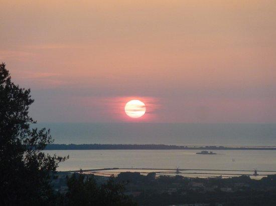 Baglio Oneto Resort and Wines: sunset