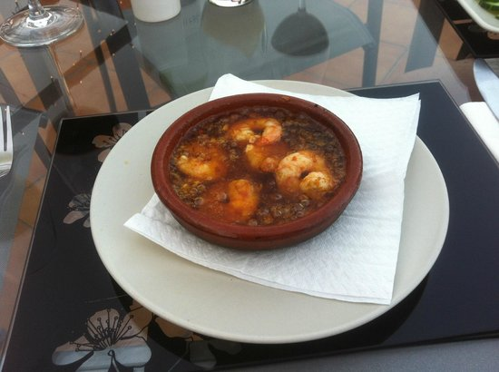 La Casa Bar and Restaurant: Gambas Pil-Pil