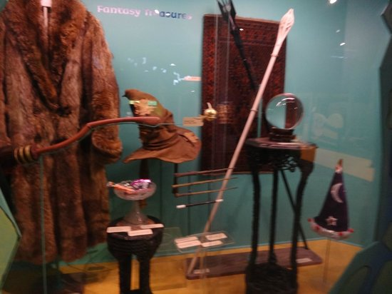 The Strong National Museum of Play: Harry Potter in Wizards' area