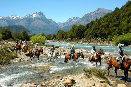 Futaleufu River Bio Bio Expeditions Camp: Horseback Riding