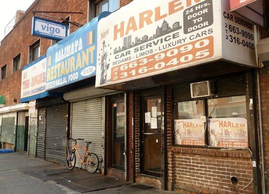 Aloft Harlem : A walk along Fredrick Douglass BLVD