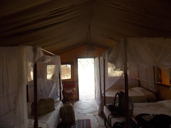 Sentrim Tsavo East: tenda