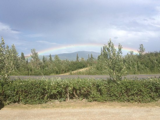 Denali RV Park & Motel: Beautiful view from the RV park!
