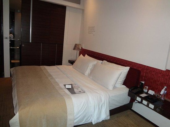 Le Meridien Bangkok: room