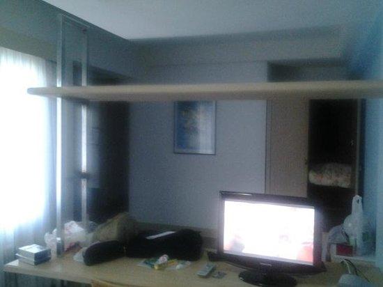 Eko Residence Hotel: vista da cama