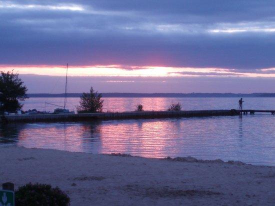 Yelloh! Village Maguide : Levè de soleil sur la plage du camping Maguide