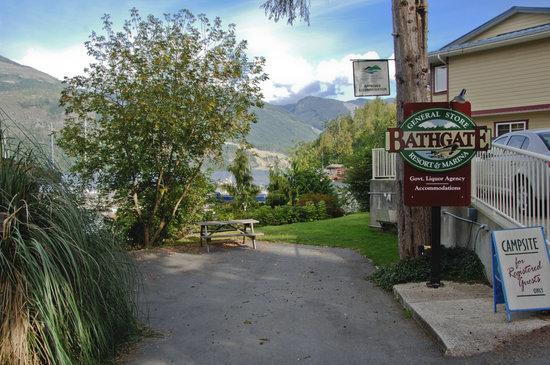 Bathgate General Store, Resort & Marina: Bathgate Campsite