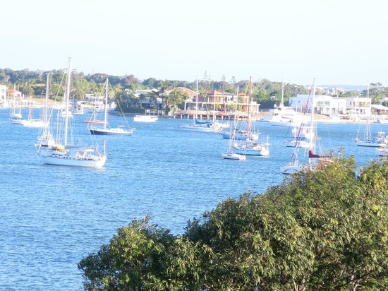 Sailport Mooloolaba Apartments: View from rooftop