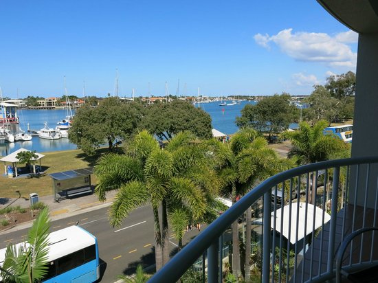 Sailport Mooloolaba Apartments: View from apartment