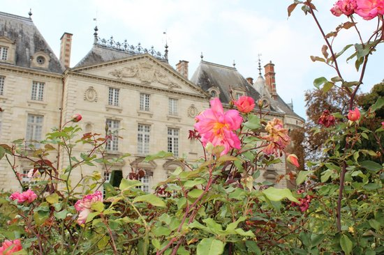 Chateau du Lude : Garden view