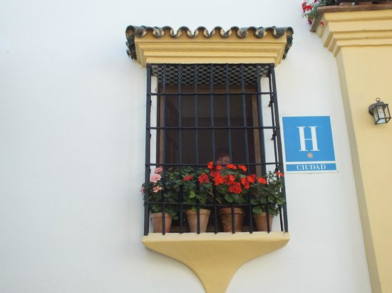 Hotel Ronda: our window