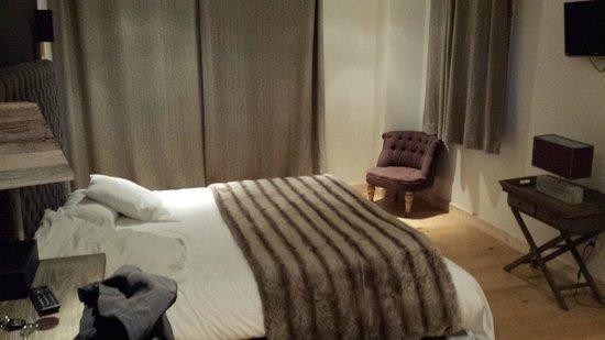 Hotel Le Monal : Chambre
